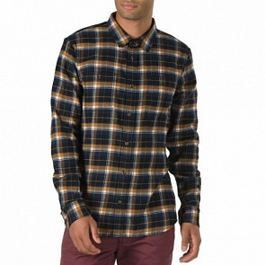 Vans Banfield Flannel - Black Rubber