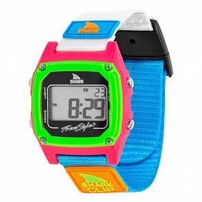 Freestyle Shark Classic Clip Watch - Black/Neon