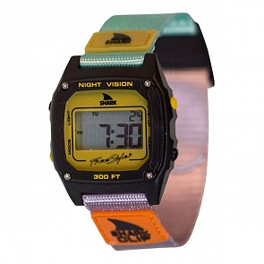 Freestyle Shark Classic Clip Watch - Turquoise/Black/Mustard