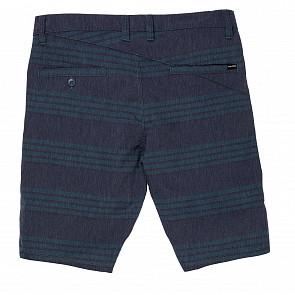Volcom Frickin Surf N' Turf Shorts - Blue/Black