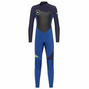 Quiksilver Youth Syncro 3/2 Back Zip Wetsuit - 2018