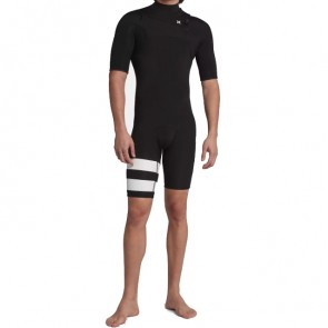 Hurley Advantage Plus 2/2 Short Sleeve Chest Zip Spring Wetsuit