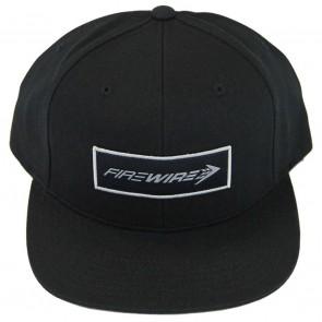 Firewire Surfboards Corpo Snapback Hat - Black/Silver