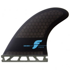 Futures Fins - F4 Honeycomb - Smoke/Black