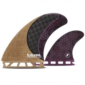 Futures Fins Rasta Honeycomb Twin + 1 Fin Set