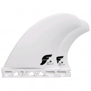 Futures Fins - Q1 V2 Quad Thermotech - White