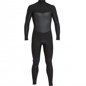 Billabong Furnace Absolute X GBS 3/2 Chest Zip Wetsuit - Black
