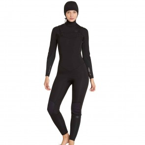Billabong Women's Furnace Carbon 5/4 Hooded Chest Zip Wetsuit
