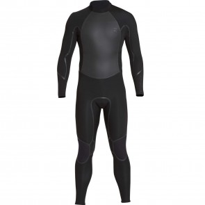 Billabong Furnace Absolute X GBS 4/3 Back Zip Wetsuit - Black
