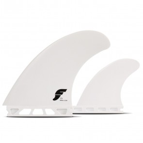 utures T1 Thermotech Twin + 1 Fin Set - White