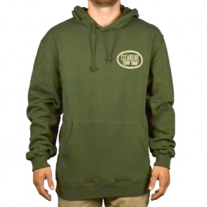Cleanline Anchor Cannon Beach Hoodie - Olive