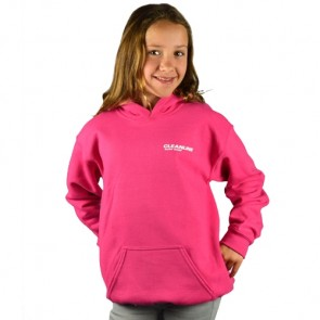 Cleanline Youth New Rock Hoodie - Heliconia