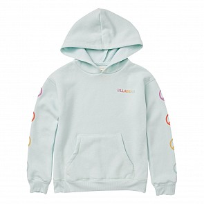 Billabong Youth Peace Love And Waves Hoody - Sky Blue
