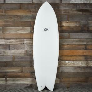 Gary Hanel C-Fish 6'4 x 22 1/4 x 2 3/4 Surfboard - White