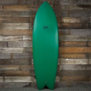Gary Hanel C-Fish 6'0 x 21 x 2 1/2 Surfboard - Avocado