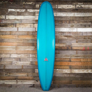 Gary Hanel Classic Noserider 9'4 x 23 1/2 x 3 3/16 Surfboard - Turquoise - Deck