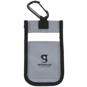 Geckobrands Waterproof Small Phone Dry Bag - Grey
