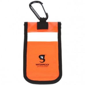 Geckobrands Waterproof Small Phone Dry Bag - Orange