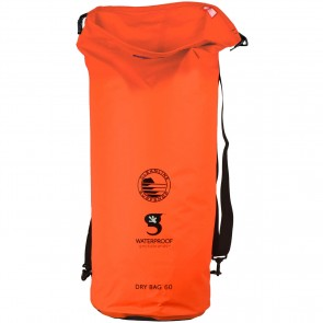 Geckobrands X Cleanline Tarpaulin 60L Dry Bag - Orange