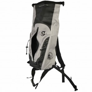 Geckobrands X Cleanline Waterproof 30L Dry Backpack - Grey/Black