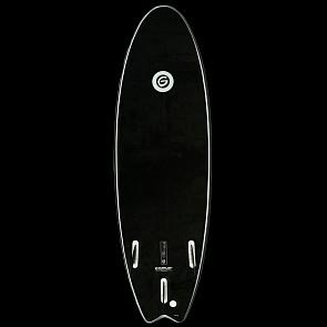 Gnaraloo Flounder Pounder Surfboard - Black