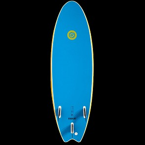 Gnaraloo Flounder Pounder Surfboard - Yellow