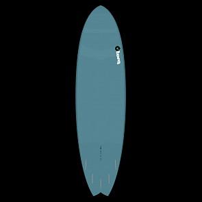 Torq Mod Fish 7'2 x 22 1/2 x 2 5/8 Surfboard - Dark Green/White