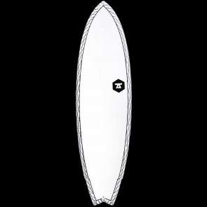 """7S Surfboards 7'6"""" Super Fish 3 CV Surfboard"""