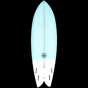 Modern Wild Child Surfboard - Blue