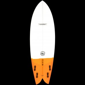 Modern Wild Child Surfboard - Orange