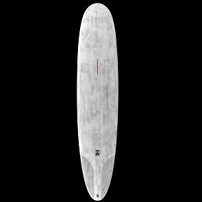 Harley Ingleby Series HI4 Thunderbolt Surfboard - Grey/Clear - Deck