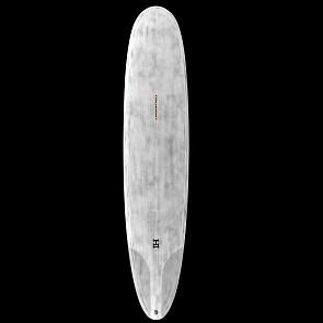 Harley Ingleby Series HI4 Thunderbolt Surfboard - Grey/Red Tint - Deck