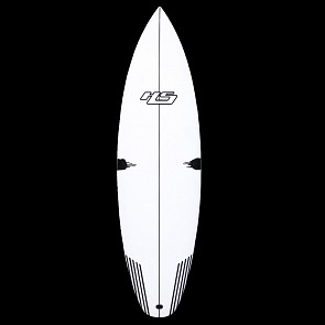 HaydenShapes White Noiz PE-C Surfboard - Deck