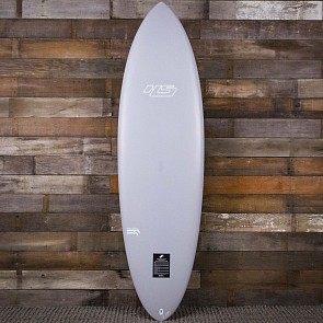Haydenshapes Hypto Krypto 6'6 x 21 1/2 x 3 Surfboard - Stone - Deck