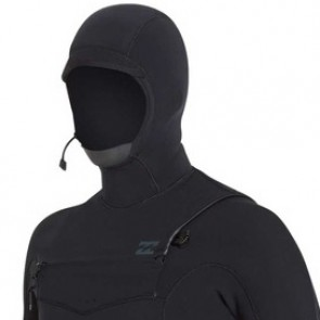 Billabong Furnace Carbon Comp 4/3 Hooded Chest Zip Wetsuit