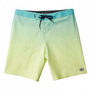 O'Neill Hyperfreak Solid Boardshorts - Aqua - front