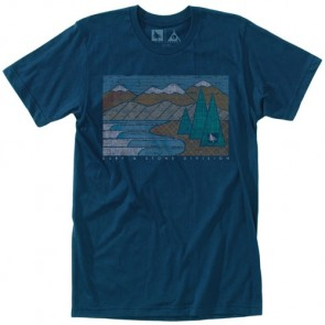 HippyTree Lakeside T-Shirt - Navy