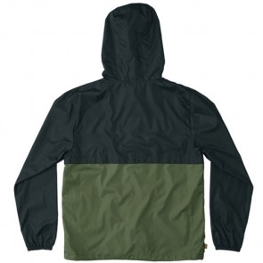 HippyTree Saddleback Windbreaker Jacket - Asphalt