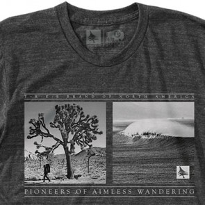 HippyTree Walkabout T-Shirt - Heather Charcoal