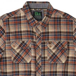 HippyTree Lobos Long Sleeve Flannel - Tan