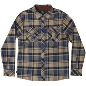 HippyTree Canyon Long Sleeve Flannel - Tan