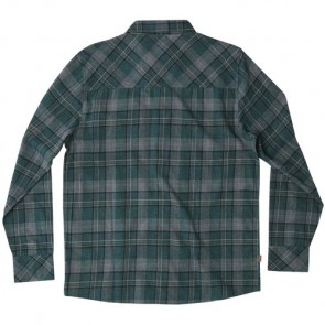 HippyTree Sedona Long Sleeve Flannel - Forest