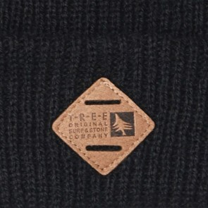 HippyTree Piedmont Beanie - Black