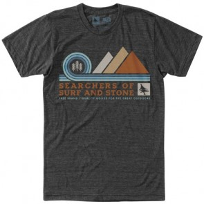HippyTree Pinnacle T-Shirt - Heather Charcoal