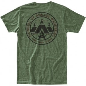 HippyTree Village T-Shirt - Heather Army