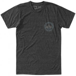 HippyTree Village T-Shirt - Heather Charcoal