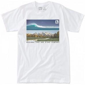 HippyTree Panoramic T-Shirt - White