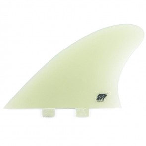 True Ames 5.25'' FCS Hobie Fish Twin Fin Set - Clear