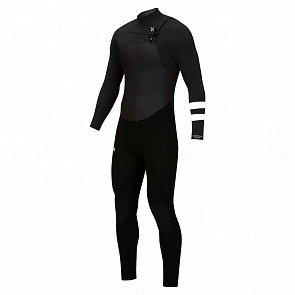 Hurley Advantage Plus 4/3 Chest Zip Wetsuit - Black