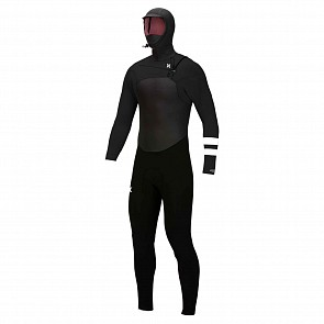 Hurley Advantage Plus 5/3 Hooded Chest Zip Wetsuit